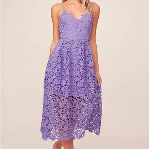 ASTR the Label Lace Midi Dress NWT